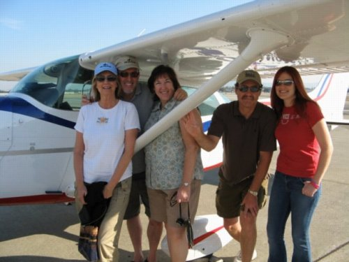 Flying with your family