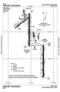 Travis Field Airport (ABI) Diagram