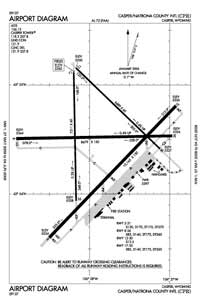 Cape Rodney Airport Airport (CPN) Diagram