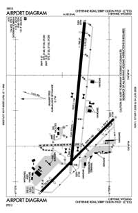 Cheyenne Regional/Jerry Olson Field Airport (CYS) Diagram