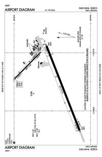 Eureka Airport (EKO) Diagram