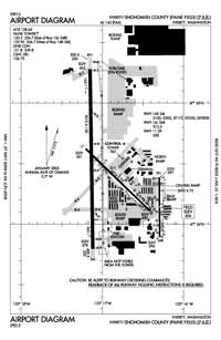 R & K Skyranch Airport (PAE) Diagram