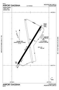 Houlton International Airport (HUL) Diagram