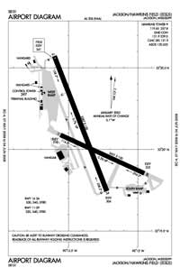 Woodsland Plantation Airport (HKS) Diagram