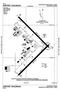 Buckner Airport (CRG) Diagram