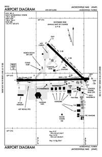 Jacksonville NAS (Towers Field) Airport (NIP) Diagram