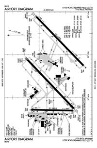 Bill And Hillary Clinton National/Adams Field Airport (LIT) Diagram