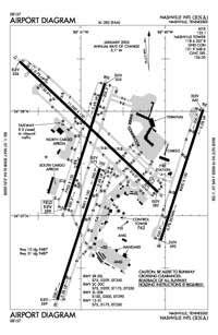 Nashville International Airport (BNA) Diagram