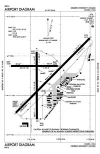 Skyline Airport (OGD) Diagram