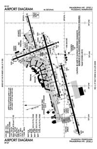 Cape May County Airport (PHL) Diagram