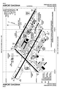 Pacific City State Airport (PDX) Diagram