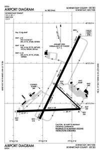 Morin Airport (SCH) Diagram