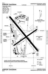 Alert Field Airport (DTN) Diagram