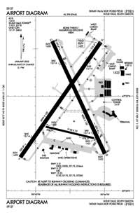 Graham Field Airport (FSD) Diagram