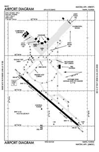 Macdill AFB Airport (MCF) Diagram