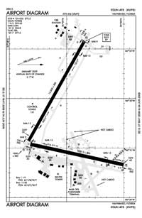 Eglin AFB/Destin-Ft Walton Beach Airport (VPS) Diagram