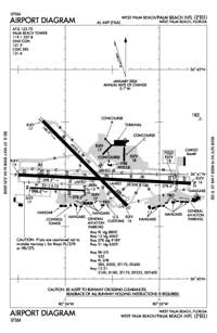 Palm Beach International Airport (PBI) Diagram