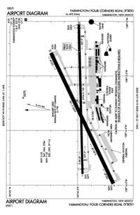 Grants-Milan Municipal Airport (FMN) Diagram