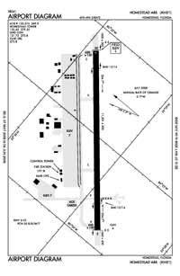 Palm Beach County Park Airport (HST) Diagram