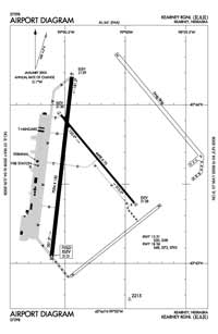 Hock Airport (EAR) Diagram