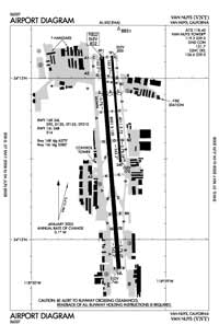 Van Nuys Airport (VNY) Diagram