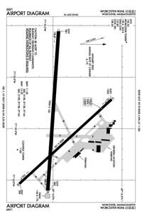 Mundale Airport (ORH) Diagram
