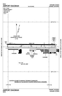Airport Towers Nr 1 Heliport (OXR) Diagram