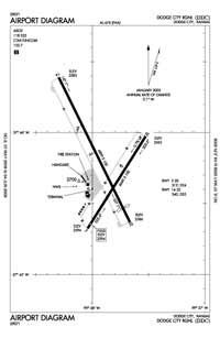 Dodge City Regional Airport (DDC) Diagram