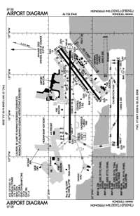 Daniel K Inouye International Airport (HNL) Diagram