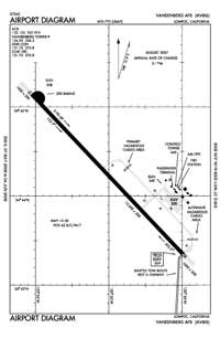 Vandenberg AFB Airport (VBG) Diagram