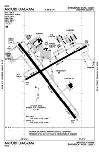 Mac Kay Heliport (SHV) Diagram