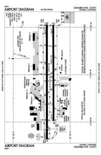 Ontario International Airport (ONT) Diagram