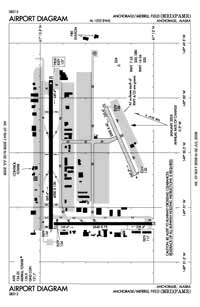 Merrill Field Airport (MRI) Diagram