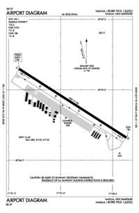 Tanner-Hiller Airport (ASH) Diagram