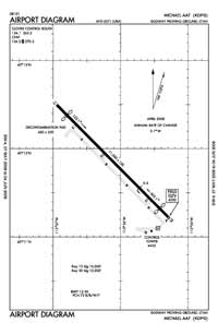 Michael AAF (Dugway Proving Ground) Airport (DPG) Diagram