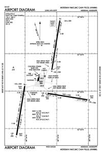 Meridian NAS /Mc Cain Field/ Airport (KNMM) Diagram