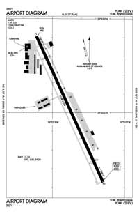 Roadcap Airport (THV) Diagram