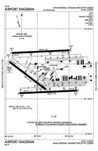 Florida Keys Memorial Hospital Heliport (TMB) Diagram