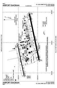 Phillips Airport (SUS) Diagram