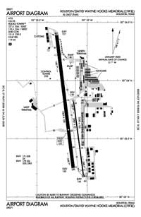 Griffith Ranch Airport (DWH) Diagram