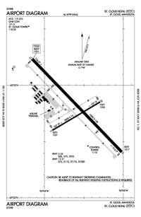 Peterson Seaplane Base (STC) Diagram