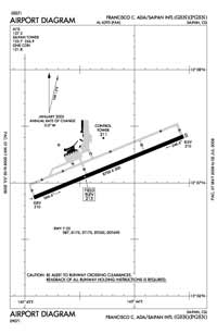 Francisco C Ada/Saipan International Airport (SPN) Diagram