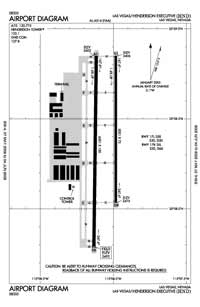 Henderson Executive Airport (HSH) Diagram
