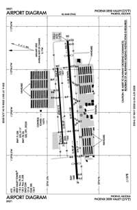 Phoenix Deer Valley Airport (DVT) Diagram