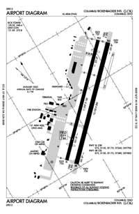 Ravenswood Seaplane Base (LCK) Diagram