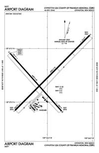 Lea County-Zip Franklin Memorial Airport (E06) Diagram