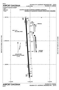 Laughlin/Bullhead International Airport (IFP) Diagram