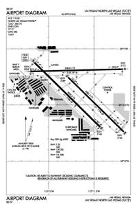Needles Airport (VGT) Diagram