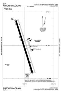 Fayette Regional Air Center Airport (3T5) Diagram