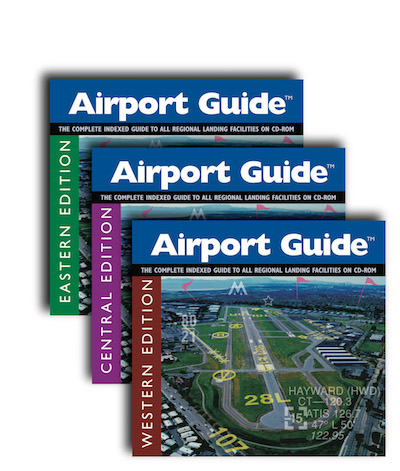 Airport Guide - All 3 CD Covers